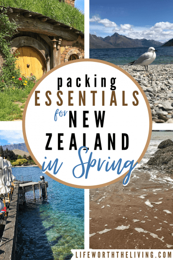 packing essentials for New Zealand in the Spring
