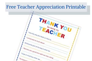 Teacher Appreciation pdf