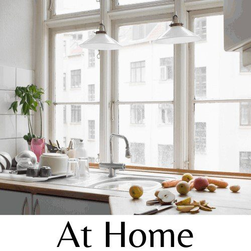 This is a link to my At Home page with posts that relate to keeping a home, DIY projects and product reviews.